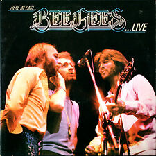 Here At Last ... Bee Gees Live Bee Gees 2-LP vinyl record (Double Album) UK