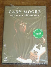 GARY MOORE Live at Monsters of Rock DVD NEUF