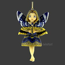 *MOTH QUEEN* Strangeling Art Fairy Hanging Figurine By Jasmine Becket-Griffith