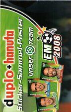 FERRERO duplo & hanuta SAMMELPOSTER: Unser DFB-Team bei der EM 2008!