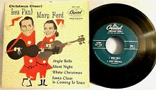 LES PAUL & MARY FORD  - Christmas Cheer - Capitol,1955 EX / VG+ 7-inch EP