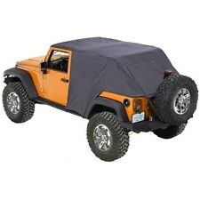 Pavement Ends Emergency Top Quick Protection 07-15 Jeep Wrangler Unlimited Black