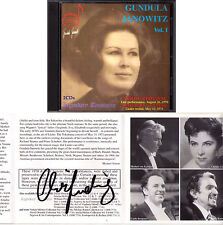 Gundula JANOWITZ VERDI Requiem + Japan Recital KARAJAN 2CD Christa LUDWIG Signed