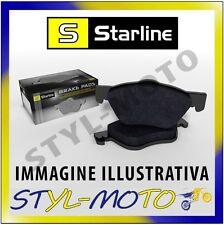 PASTIGLIE ANTERIORI STARLINE BD S670 AUDI A5/S5 (8T) 2.0 155 KW ATE 2007