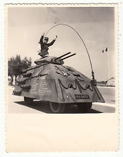 PHOTO MILITAIRE  AFRIQUE  DECENBRE 1962 ST ELOY CHAR