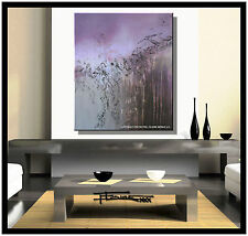 ABSTRACT CANVAS PAINTING Large, Original/Reproduction, Signed, US     ELOISExxx