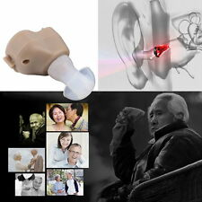 Mini Best Sound Amplifier Adjustable Tone In The Ear Hearing Aids Aid Invisible#