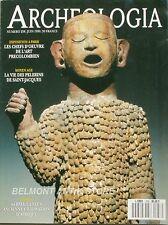Archéologia n°258 - 1990 - Art précolombien - Kerma - Le Bourdon - Entemena
