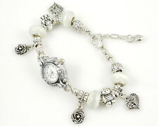 Charm Watch Style Bracelet Fit European Beads 20cm WP03