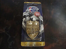 OOK---Professional Picture Hanger---50 LBS---1 Piece---2 Nails---Factory Sealed