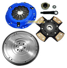 FX 4-PUCK STAGE 3 CLUTCH KIT & HD FLYWHEEL 92-05 HONDA CIVIC DEL SOL D15 D16 D17