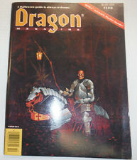 Dragon Magazine Bazaar Of The Bizarre October 1990 122614R