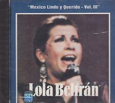 Lola Beltran Mexico Lindo Y Querido CD New sealed
