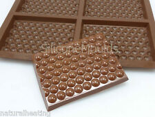 4 cell Medium BUBBLE WRAP (78g) Chocolate Bar Mould Professional Silicone Tray