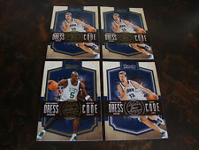 2009-10 Classics Basketball---Dress Code---Lot Of 4---With 1 Silver---See List