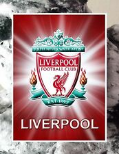 "4 FC Liverpool Logo Poster Flexible Fridge Magnet 2.5"" x 3.5"""