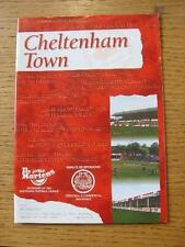 12/10/1996 Cheltenham Town v Weymouth [FA Cup] . No obvious faults, unless descr