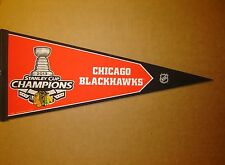 2013 Chicago Blackhawks NHL Stanley Cup Champions Pennant