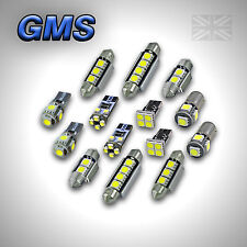 VOLKSWAGEN POLO V MK5 6R ERROR FREE INTERIOR CAR LED LIGHTS BULB KIT XENON WHITE