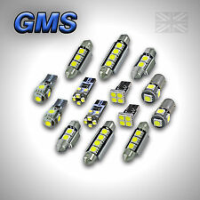 BMW 3 SERIES (E46) COUPE - INTERIOR CAR LED LIGHT BULBS KIT - XENON WHITE