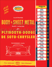 De Soto Body Parts Book 1953 1954 1955 1956 Desoto Powermaster Firedome