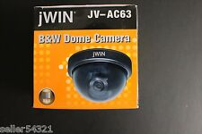 JWIN B&W Mini-Dome CCD Security Surveillance Camera JV-AC63