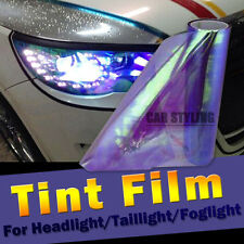 "12""x48"" Purple Neo Chameleon Tint Vinyl Film Car Headlight Taillight Fog Light"