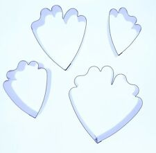 Peony Petal Sugarcraft Cutter -Set of 4-Valley Cutter Company -Cake Decorating