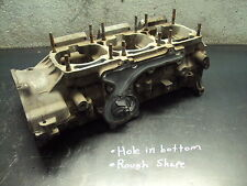 2000 00 YAMAHA 600 SXR SNOWMOBILE MOTOR ENGINE CRANK CASE CASES CRANKCASES