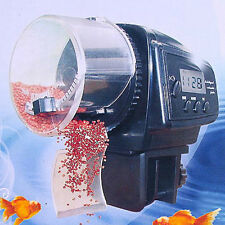 Hot LCD Digital Automatic Fish Food Feeder for Aquarium Fish Tank Timer