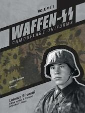 Waffen-SS Camouflage Uniforms Book Vol. 1~Helmet Covers and Smocks~WW2~NEW HC!
