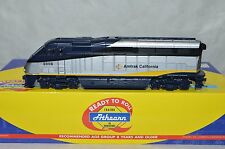 HO scale Athearn Amtrak California passenger EMD F59PHI locomotive train