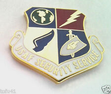 USAF SECURITY SERVICE  Military Veteran US AIR FORCE Hat Pin 14210 HO