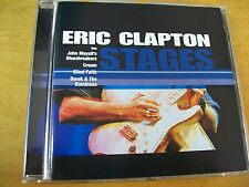 ERIC CLAPTON STAGES  CD JOHN MAYALL CREAM BLIND FAITH