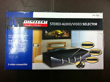 BRAND NEW DIGITECH STEREO AUDIO/VIDEO AUDIO / VIDEO SELECTOR - # AC-1652 - CHEAP