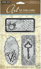 HERO ARTS Repositionable Rubber Stamps UNTITLED KEY Art of the Card # AC008