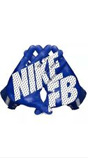 Nike Vapor Jet 3.0 Football Gloves GF0485 441 Blue /White Size XL