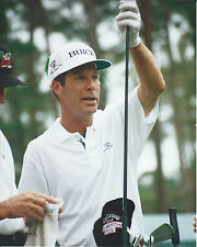 BEN CRENSHAW pga 8 X 10 PHOTO WITH ULTRA PRO TOPLOADER
