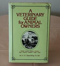 A VETERINARY GUIDE FOR ANIMAL OWNERS 1976 HBDJ