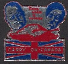 Canada Poster Stamp:1940s CARRY ON CANADA -Their Goose is Cooked cc3500-2(dw353)