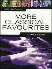 Really Easy Piano More Classical Favourites Sheet Music Book