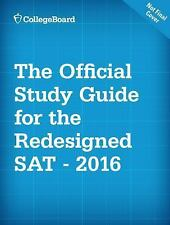 Official SAT Study Guide College Preparation Student High School 2016 Edition
