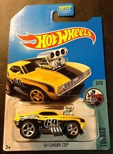2017 Hot Wheels Regular Treasure Hunt 69 Camaro Z28 CUSTOM with Real Riders