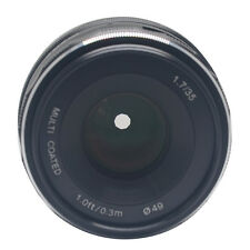 Meike 35mm f1.7 Large Aperture Manual Focus lens APS-C For Canon EOS M1 M2 M3