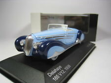 DELAHAYE 165 V12 1938 1/43 WHITEBOX (BLUE)