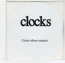 (FE427) Clocks, 5 track album sampler - 2007 DJ CD