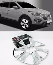 Chrome Wheel Cover Molding 20Pcs 1Set Fit: Hyundai Grand Santa Fe XL 2014 2015