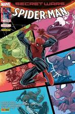 SECRET WARS : SPIDER-MAN 1 (couverture 2/2 Nick Bradshaw) PANINI COMME NEUF