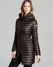 2016 Moncler Barbel Long Coat Jacket Puffer $995 size 5 NEW Charcoal