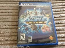 SONY PS VITA ALL STARS BATTLE ROYALE BRAND NEW AND SEALED GAME! PSV PLAYSTATION